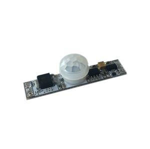 LED21 Spínač s pohybovým čidlem pro LED pásky, montáž do ALU profilu, 6A